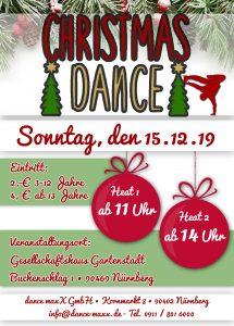 Tanzstudio dance maxX Nürnberg Christmas Dance 2019
