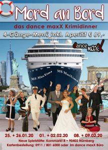 Tanzstudio dance maxX Nürnberg Krimidinner 2020