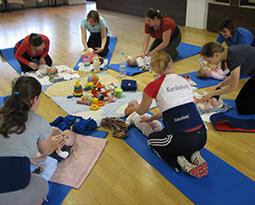 Tanzstudio dance maxX Nürnberg Fit dank Baby