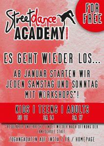 2021 Tanz Workshops Corona Nürnberg