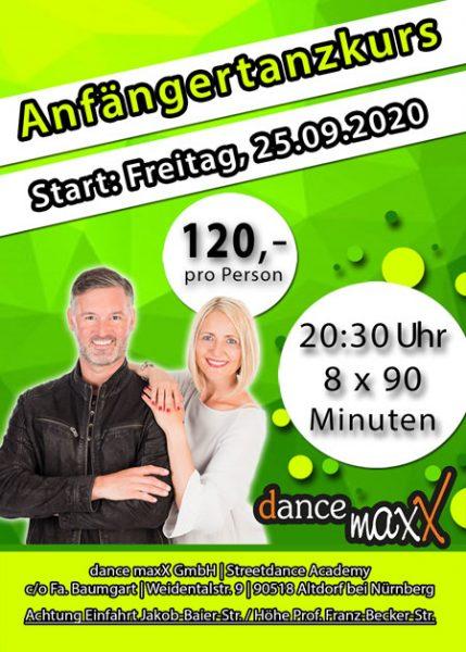 Anfängertanzkurs in Altdorf 25.09.2020